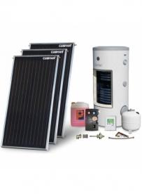Pachet solar premium ALU 2-3 persoane B-BV 250L